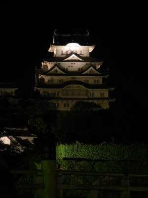 姫路城 夜