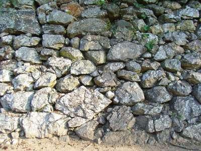 姫路城 石垣(おそらく豊臣期)