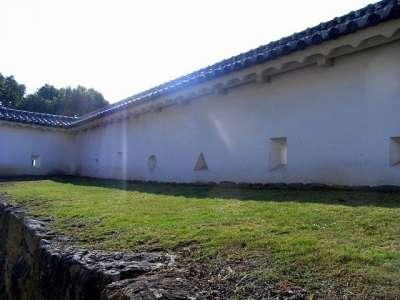姫路城 塀