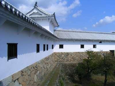 姫路城 西の丸(漆喰塗りなおし後)