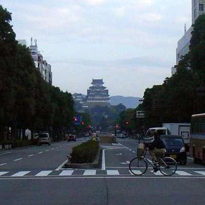 姫路城 大手道