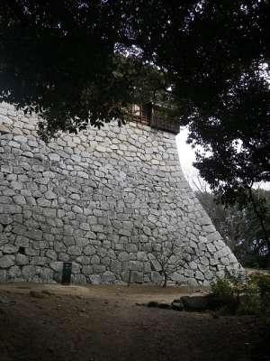 伊予松山城 乾櫓の石垣