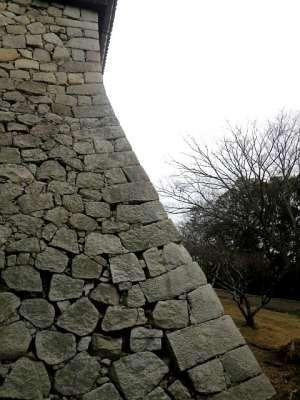 伊予松山城 石垣