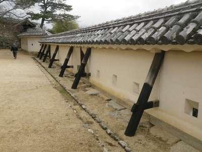 伊予松山城 塀