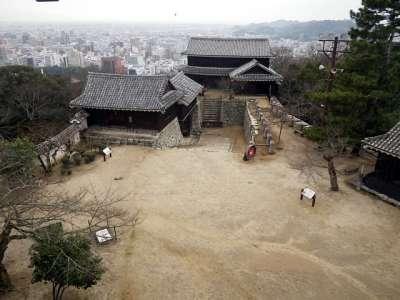 伊予松山城 天守からの眺望