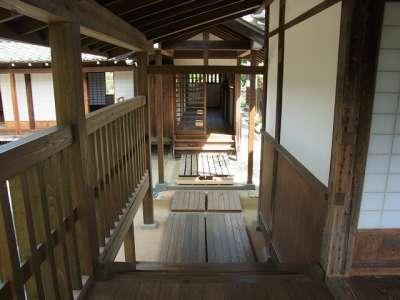 川越城 本丸御殿 家老詰所への廊下