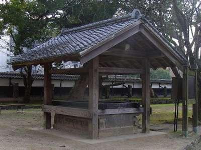 熊本城 井戸