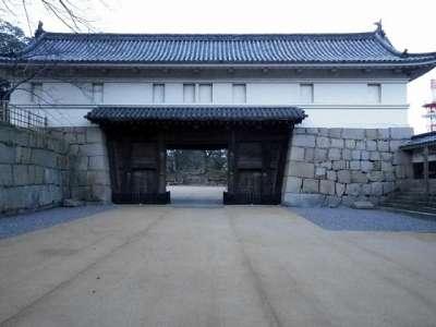 丸亀城 大手二ノ門