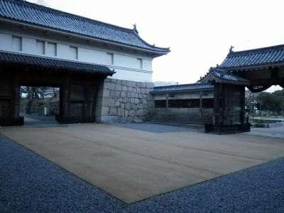 丸亀城 大手枡形