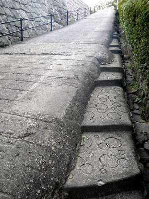 丸亀城 スロープ