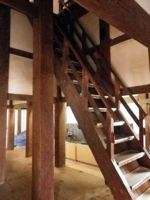 丸亀城 天守内部 階段