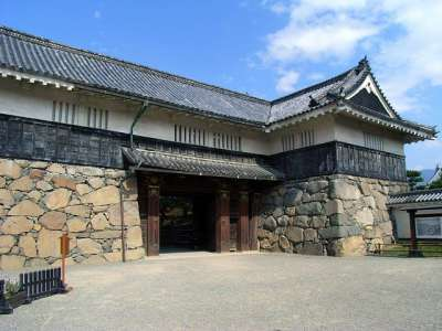 松本城 黒門(復元)