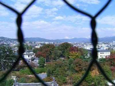 松本城 天守からの眺望