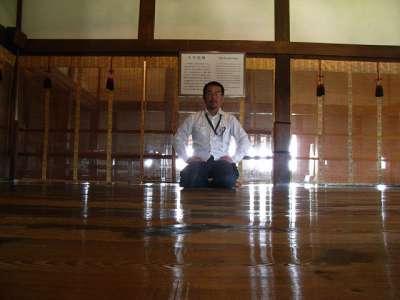 松本城 天守(たぶん)四階