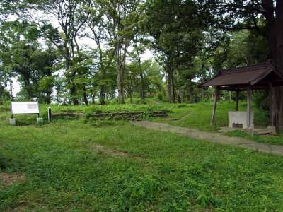 武蔵松山城 本丸