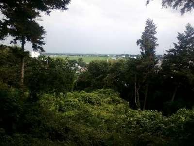 武蔵松山城 眺望
