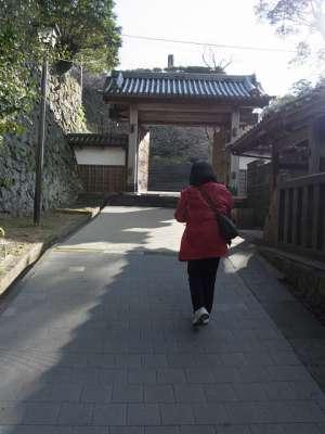 延岡城 門