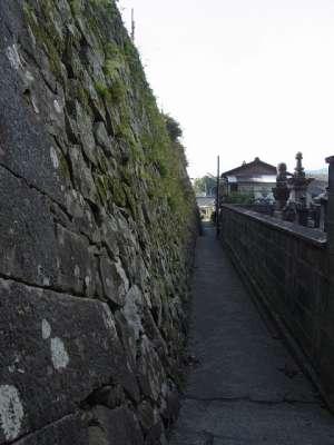 延岡城 石垣