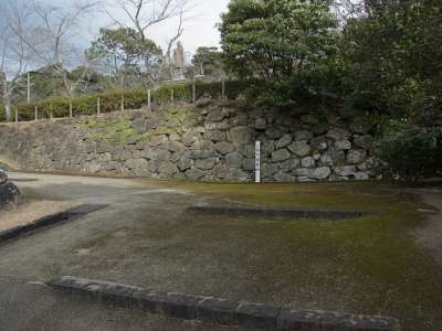 延岡城 門櫓跡