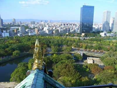 大阪城 天守からの眺望