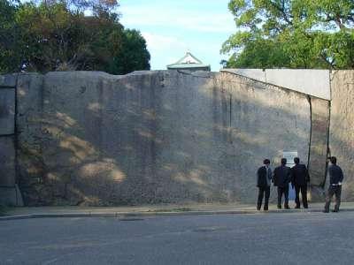 大阪城 蛸石