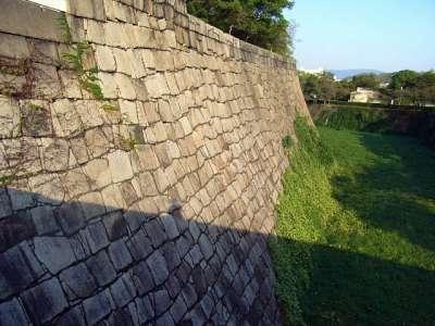 大阪城 高石垣