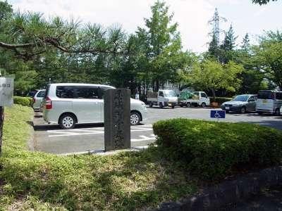 忍城跡 本丸跡 駐車場