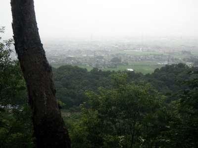 太田金山城 眺望