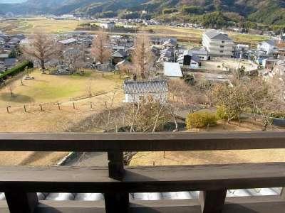 大洲城 高欄櫓より