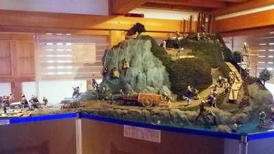 大洲城 復元天守展示物