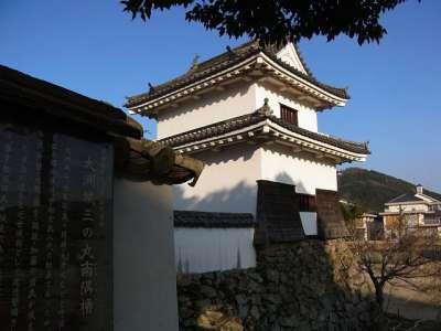 大洲城 三の丸南隅櫓