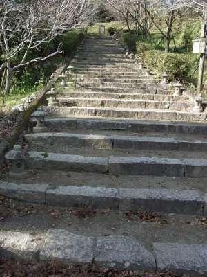 高鍋城  本丸への道