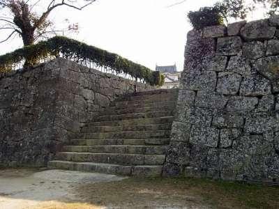 宇和島城 本丸入口