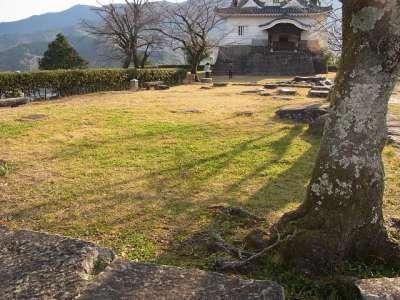 宇和島城 本丸 御台所跡
