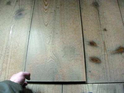 宇和島城 天守一階床板
