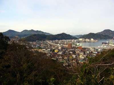 宇和島城 天守からの眺望
