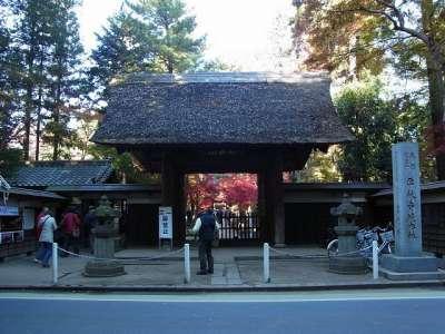 平林寺 総門