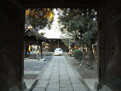 妙仙寺(埼玉県川口市)