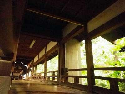 川越喜多院 渡廊