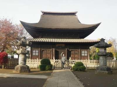 正福寺 2010-11-28 千躰地蔵堂 記念のシェー