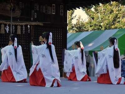 正福寺 2016-11-03 浦安の舞