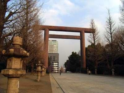靖国神社(東京都千代田区) 大鳥居