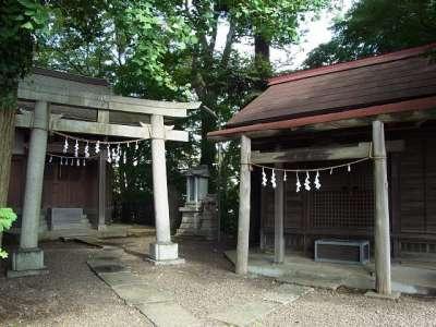 川越城 富士見櫓跡 御岳神社