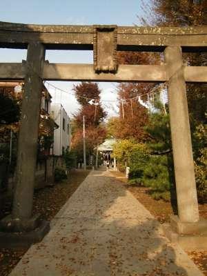 徳丸北野神社(板橋区)