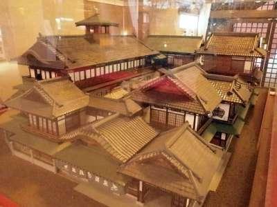 道後温泉 本館 模型(新館に展示)