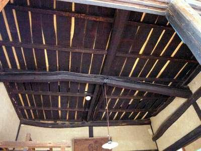 三鷹の水車農家 しんぐるま 母屋の天井