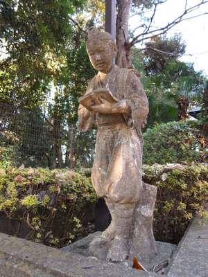 杉並区郷土博物館 二宮金次郎像