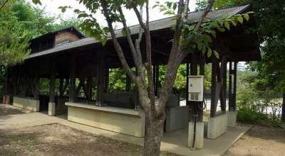 北区立赤羽自然観察公園 炊事場