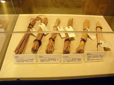 旧松澤家住宅 倉屋内の展示物