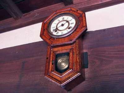 旧松澤家住宅 座敷の振り子時計
